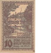 10 Heller (Sonntagberg) – avers