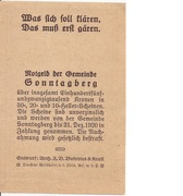 10 Heller (Sonntagberg) – revers