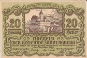 20 Heller (Sonntagberg) – avers
