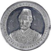 Medal - General C.G. Gordon - The Latest Christian Martyr – avers