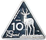 10 Pounds (Dorcas gazelle) – revers
