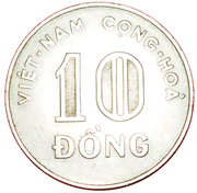 10 dong – avers