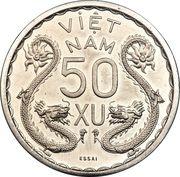50 xu - Bảo Đại (Piefort Essai) – revers