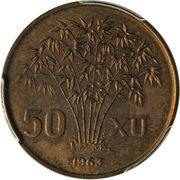 50 xu (Essai) – revers