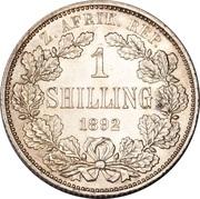 1 shilling (Zuid-Afrikaansche Republiek) – revers