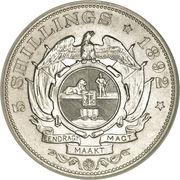 5 shillings (Zuid-Afrikaansche Republiek) – revers