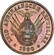 1 penny (Zuid Afrikaansche Republiek, essai) – avers