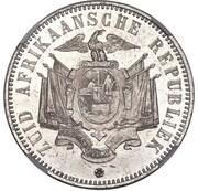 5 shillings (Zuid Afrikaansche Republiek ; essai du Transvaal) – revers