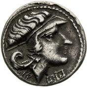 "Drachm (""Athéna Alkidemos"" type) – avers"