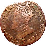 Liard - Philippe II (Maastricht) – avers