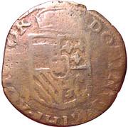 Liard - Philippe II (Maastricht) – revers