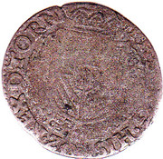 Vingtième d'Écu - Philippe II – avers