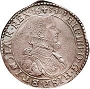 Ducaton - Philippe  IV – avers
