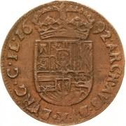 Liard - Charles II – revers