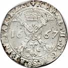 Patagon - Charles II – avers