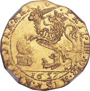 Souverain D'or - Philippe IV – avers
