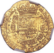 Souverain D'or - Philippe IV – revers