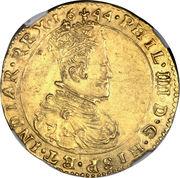 Double Souverain d'or - Philip IV – avers
