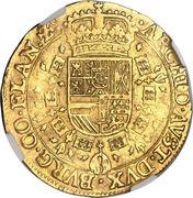 Double Souverain d'or - Philip IV – revers