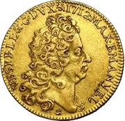 Double Souverain d'or - Maximilien-Emmanuel de Bavière – avers