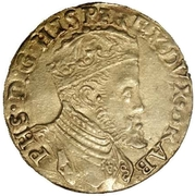 Real d'Or - Philippe II – avers