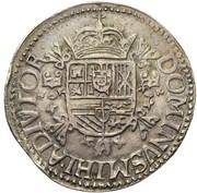 Écu Filipsdaalder - Philippe II – revers