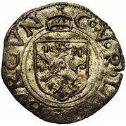 Liard - Charles V – avers