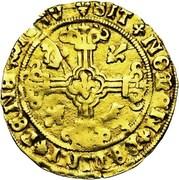 Demi-florin St. Philippe - Charles V – revers