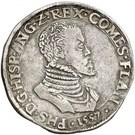 Écu - Philippe II (ANG) – avers