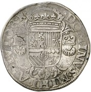 Écu des Etats - Philippe II – revers