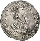 Demi-écu - Philippe II – avers