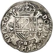 Demi-écu - Philippe II – revers