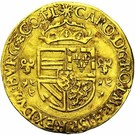 Couronne au soleil - Charles V – avers