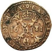 Gigot - Charles II (Anvers) – avers