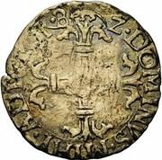 Quarantième d'écu - Philippe II – revers