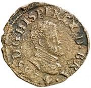 Double courte - Philippe II – avers
