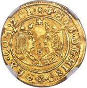 Double ducat - Philippe II – avers