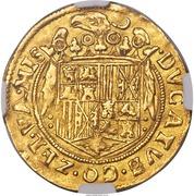 Double ducat - Philippe II – revers