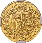 2 Ducats - Philippe II (Middelburg Mint) – revers