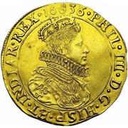 Double Souverain - Philippe IV (type I) – avers