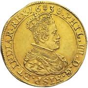 Double Souverain - Philippe IV (type II) – avers