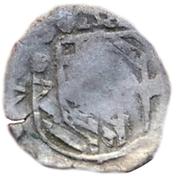 1 pfennig Marquard von Hattstein (Schüsselpfennig) – avers