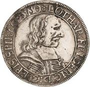 60 Kreuzer - Lothar Friedrich von Metternich – avers