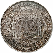 ½ Thaler - August Philipp (Accession) – avers