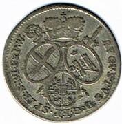 5 kreuzer Auguste Philippe Charles de Limburg-Gehmen-Styrum – avers