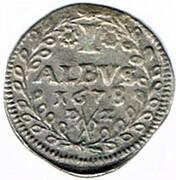 1 albus Johann Hugo d'Orsbeck – revers