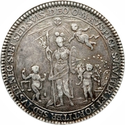 ½ Thaler - August Philipp (Accession) – revers