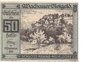 50 Heller (Wachau - Ranna-Mühldorf) -  avers