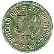 50 pfennig - Spremberg – avers