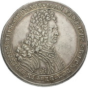 1 thaler Johann Ehrenreich – avers